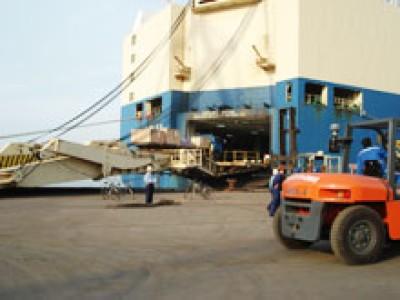 连云港物流庙岭散粮筒仓,新增吞吐能力250万吨改扩建项目投产
